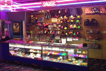 Coachlite Skate Center Front Counter